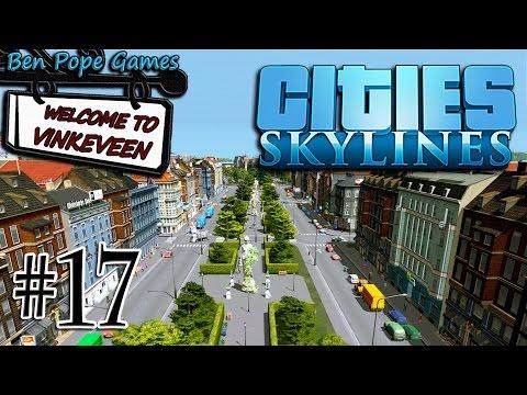 Cities: Skylines - (European Themed City) - #17 The Grand Boulevard