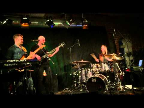 Awesome drumsolo by Anika Nilles! With Stefan Gunnarsson, Fredrik Lundgren & P-a Petersson