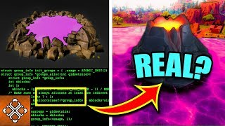 FORTNITE VOLCANO EVENT CONFIRMED! (Game Code And Runes Proof)