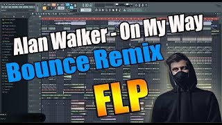 Download How i made my Bounce Remix of: Alan Waker - On My Way (FL Studio) FLP Mp3