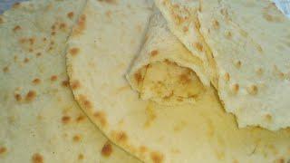 Лаваш из рисовой муки/ Rice flour pita bread