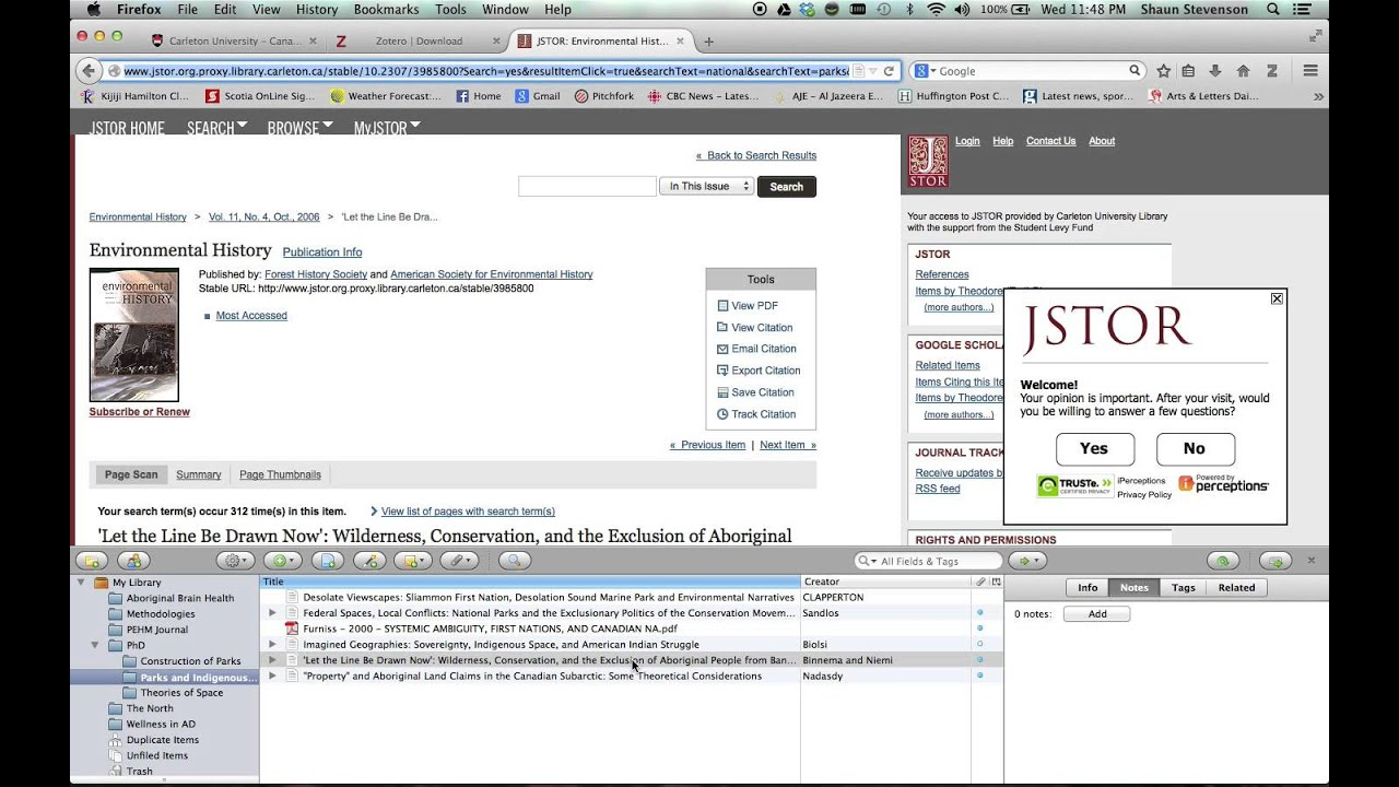 Zotero Reference Management Software
