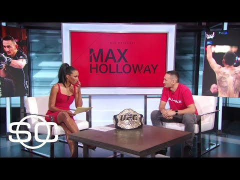Max Holloway Excited To Fight Jose Aldo At UFC 212 | SportsCenter | ESPN