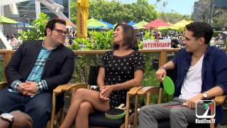 The cast talks about Jessica Szohr's stripper scene, Apps & Google | The Internship