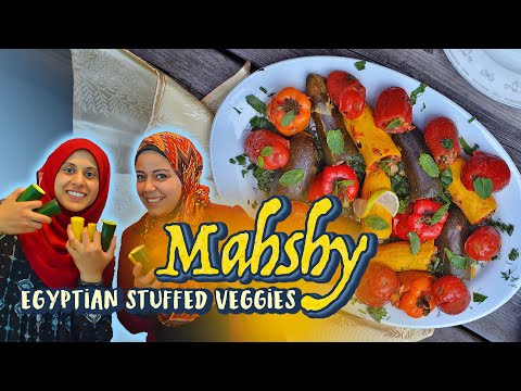 EASY Recipe for Mahshy Egyptian Stuffed Vegetables (feat. MasterChef Top 10 Reem Ahmed!)