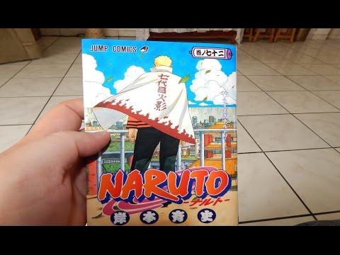 UNBOXING NARUTO MANGA 700(TOMO 72)