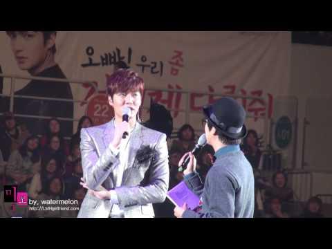 직캠)  20140118 이민호 LEEMINHO Global Tour In Seoul Encore 2