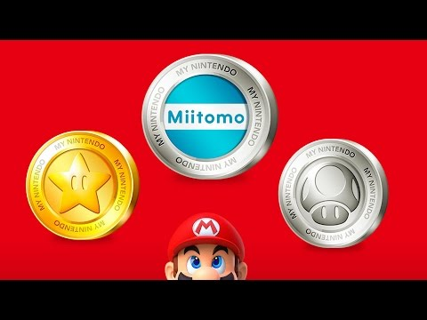 My Nintendo Rewards Programme - How to Earn Points from Retail Version