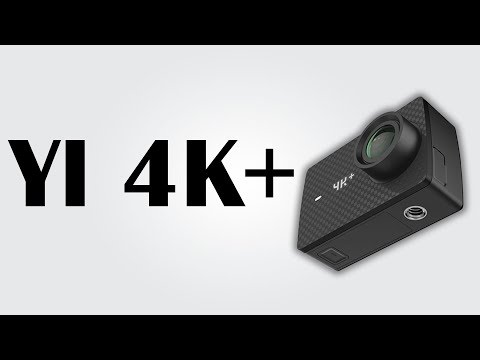 YI 4K+ - Action Camera / 60 Fps Intelligent Electronic / H2 Digital Camera Plus / 1400mAh Battery