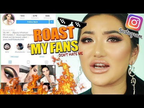 ROASTING MY INSTAGRAM FOLLOWERS PAGES! MISTAKES YOU'RE MAKING ON INSTAGRAM