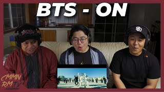 Gambar cover BTS REACTION! | 'ON' Kinetic Manifesto Film : Come Prima and Official MV