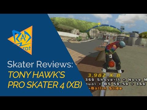 Skater Reviews - Tony Hawk's Pro Skater 4. Still Good After 15 Years?