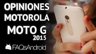 Motorola Moto G 2015: Opiniones y problemas en español
