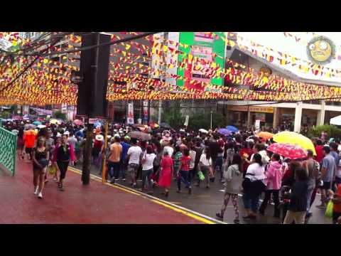 Sto Nino Solemn Procession Cebu City Mango Avenue