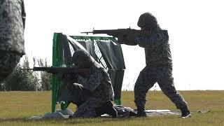 A181202C 航空自衛隊 串本分屯基地 創立記念行事 戦闘訓練展示