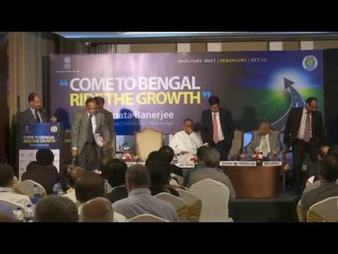 Investment Roadshow in Bangalore for Bengal Global Business Summit 2016