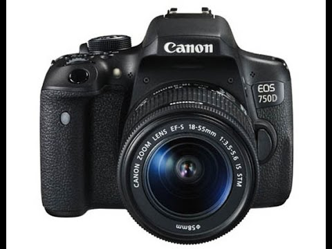 Canon EOS 750D (Canon Rebel T6i) DSLR  full hands on review