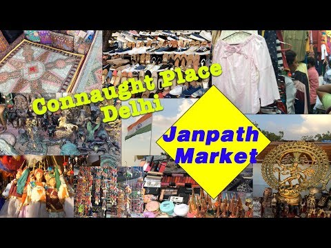 Janpath Market Delhi, Connaught Place, Delhi's Shopping Destination