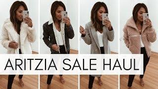 Aritzia Sale Haul | Winter Sale Haul