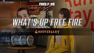 What's Up Free Fire with Kelly Show: 4nniversary | Free Fire SSA