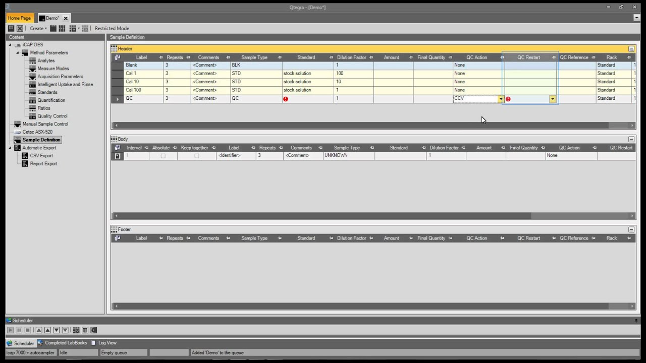 Qtegra for ICP-OES #06: How to create a Template from and existing ...