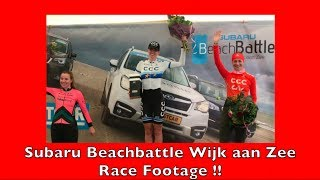Subaru Beachbattle Wijk aan Zee Race Footage!! GoPro Hero Session. Tour de RieRie #55