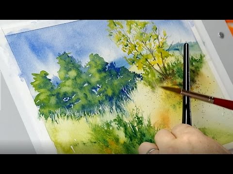 The Mind of Watercolor with Steve Mitchell – Lesson 2 – Landscape Part 2