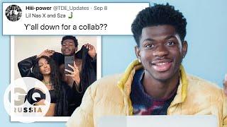 Lil Nas X отвечает на вопросы о себе в соцсетях смотреть онлайн в хорошем качестве бесплатно - VIDEOOO