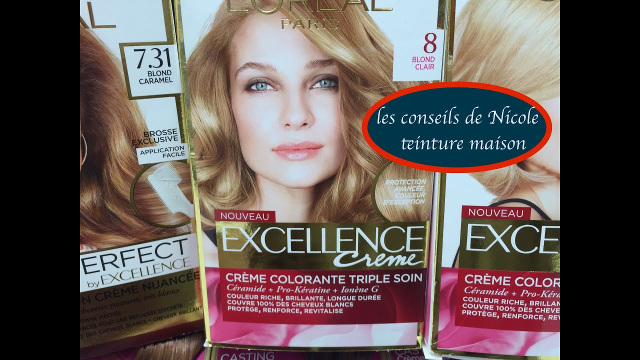 Coloration blond clair perle