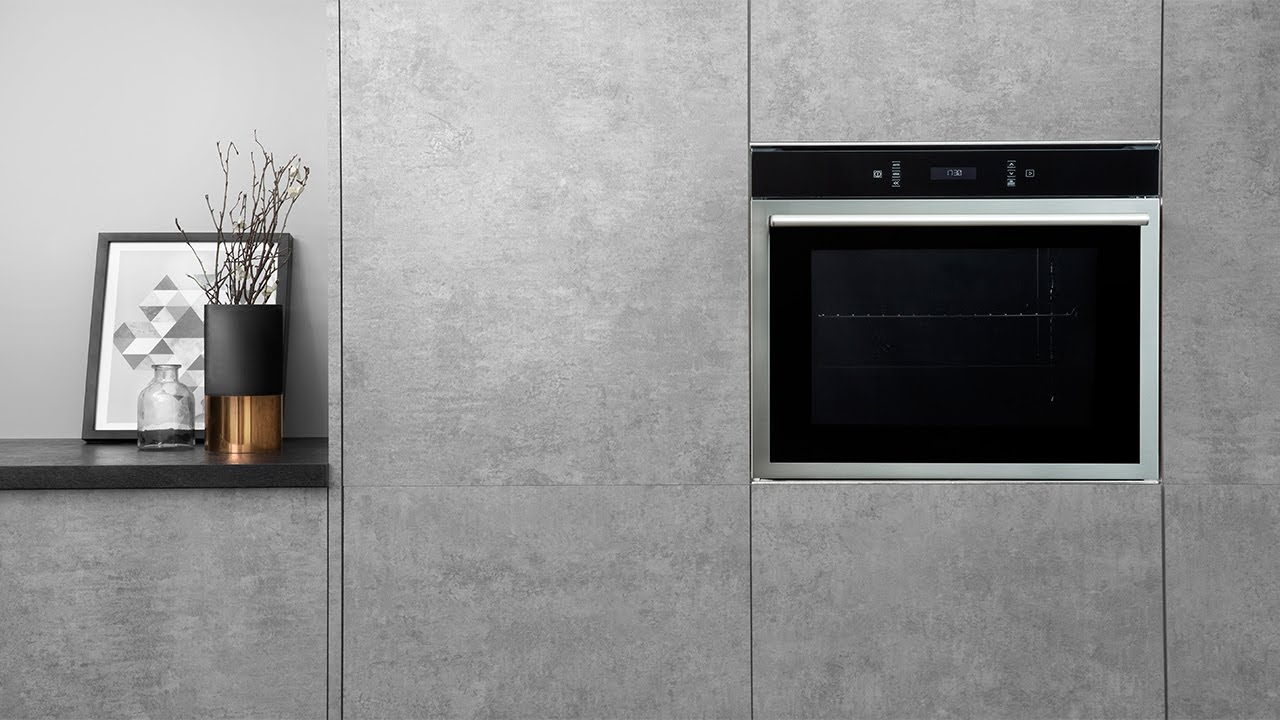 Hotpoint Class 6 SI6 874 SC IX Electric Single Built-in Oven - YouTube