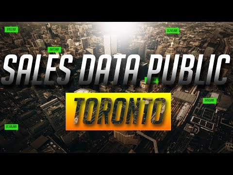 Sales Data for Everyone in Toronto