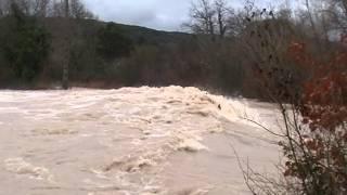 La Vallée de l'IBIE - Lagorce - janvier 2014