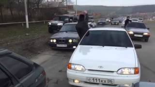 Авария в Ингушетии  свадьба