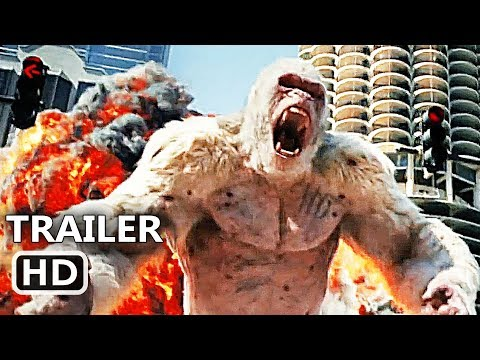 Thumbnail: RАMPAGE Official Trailer (2018) Dwayne Johnson, Giant Ape Action Movie HD