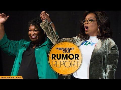 DJ Slab 1 - Oprah Shows Support For Stacey Abrams