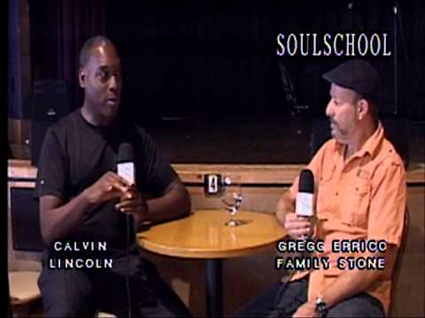 Soul School Television Interview w/Gregg Errico of Sly and the Family Stone - Pt.I