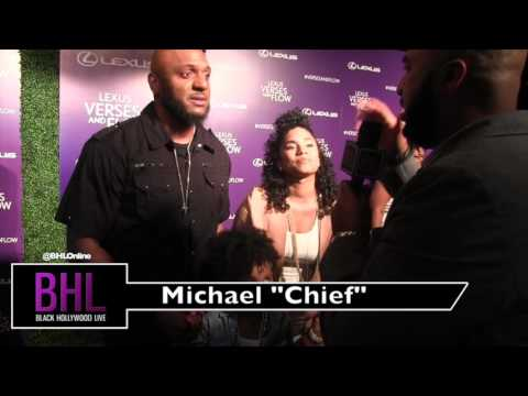 Michael Chief at the Verses & Flow Red Carpet 2016
