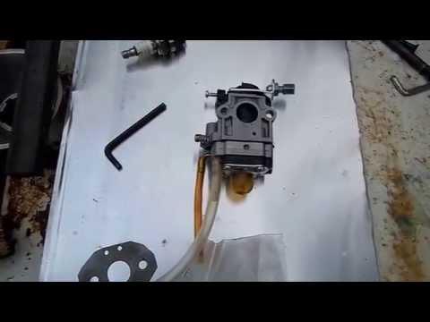 Ремонт мотокосы своими руками видео