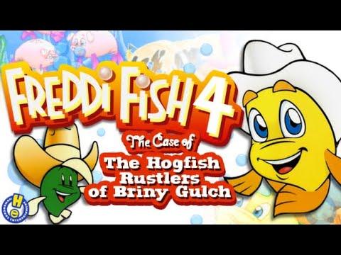 Freddi Fish 4 The Case of The Hogfish Rustlers of Briny Gulch Gameplay #2 Gathering intel |