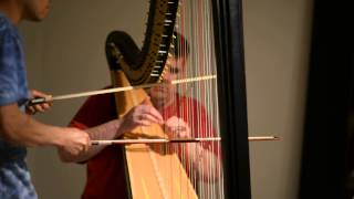 2013-05-23 1944 Bowing on Harp (Extended Technique)