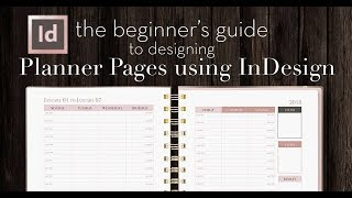 How to Design Planner Pages in InDesign   A Beginner's Guide