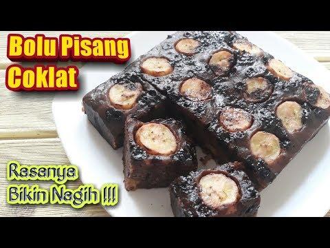 resep-bolu-pisang-coklat-kukus-|-buat-kue-terkenal-no-oven-no-mixer