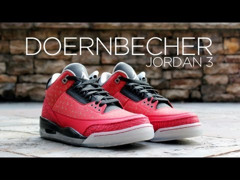 Review: Jordan 3 Retro Doernbecher