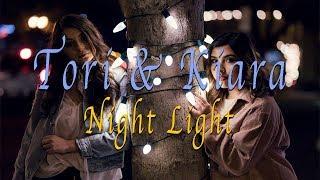 Tori & Kiara Night Light Photoshoot