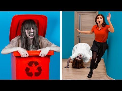 Gülmemek Çok Zor: Ters Giden 14 Cadılar Bayramı Şakası / Kendin Yap Tarzı Cadılar Bayramı Dekor