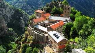 Abbaye de Saint-Martin-du-Canigou - Musique de Fritz Kreisler et George Frideric Handel