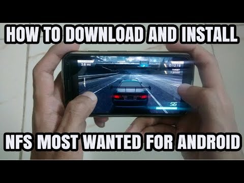 How To Download Need For Speed Most Wanted For Android 2018