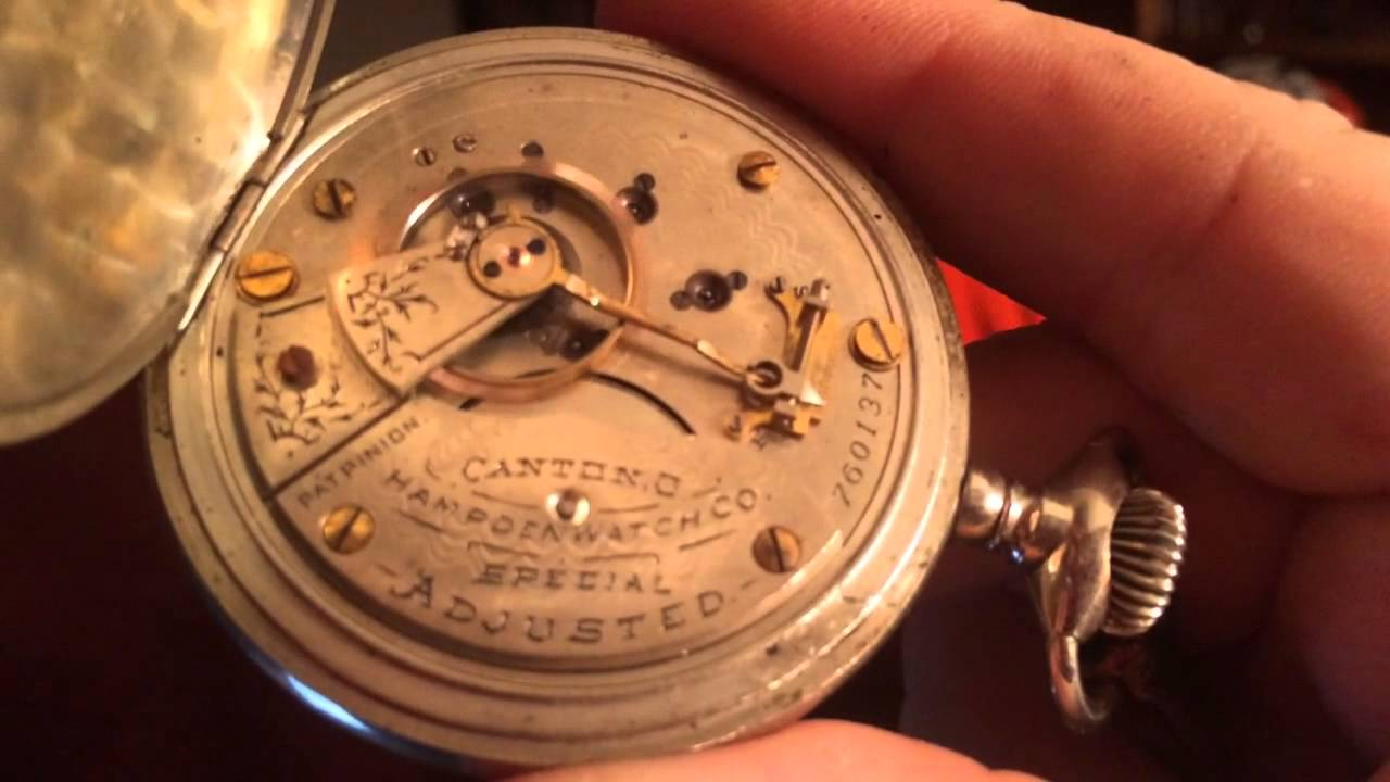 Dueber pocket watch case