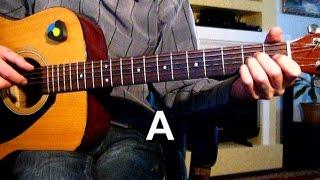 Воскресение - Случилось что-то в городе моем...Тональность ( А ) Как играть на гитаре песню