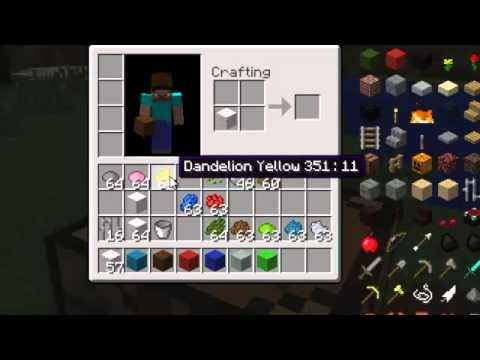 Gradini Di Legno Minecraft : Tutorial come creare la lana colorata le sbarre di ferro il